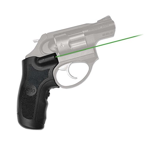Crimson Trace Green Lasergrips for Ruger LCR & LCRX Pistols - LG-415
