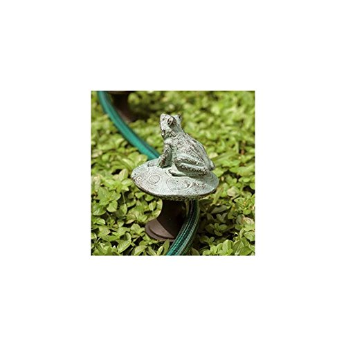 SPI Home 33146 Frog on Mushroom Hose Guard