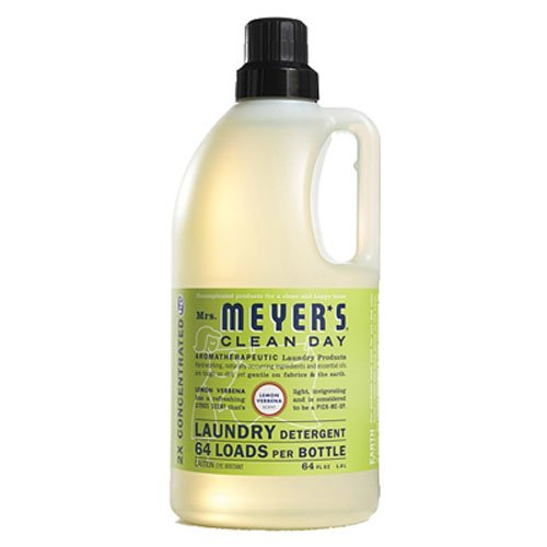 Mrs. Meyer's Clean Day Laundry Liquid Detergent, Lemon Verbena, 64 oz