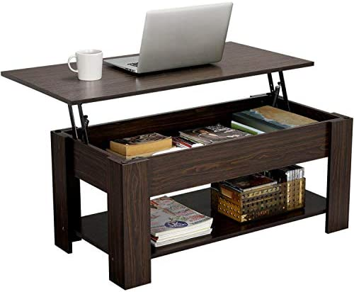YAHEETECH Modern Lift Top Coffee Table