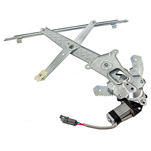 Ford Freestar Van (Drivers Front Power Window Lift Regulator with Motor Assembly Replacement for Ford Mercury Van 3F2Z1623209AA)