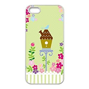 attractive bird flowers cartoon personalized creative custom protective phone case for Iphone 6 plus 5.5 Kimberly Kurzendoerfer