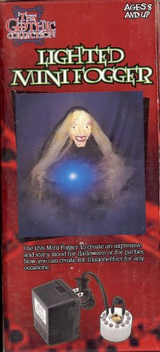 HALLOWEEN LIGHTED MINI FOGGER FOR HAUNTED HOUSES! -