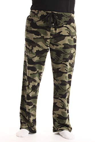 - #followme Polar Fleece Pajama Pants for Men Sleepwear PJs 45902-CAMOGRN-XL Camouflage Green