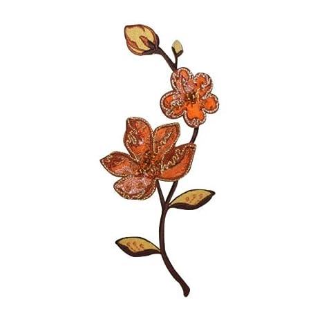 ID 5132 - Parche con diseño de flores y pétalos en 3D ...