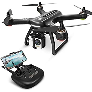 adc0b46d9e7 Holy Stone HS700 FPV Drone with 1080p HD Camera Live Video and GPS Return  Home, RC Quadcopter for Adults Beginners with Brushless Motor, Follow Me,  ...