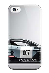 7798107K30443129 Fashion Case Cover For Iphone 4/4s(aston Martin V12 Vantage Gt3)