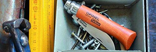 Opinel N Degree9 Bechwood Handle Carbon Steel Knife, 9 cm Blade