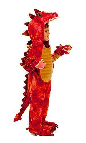 3 Costume Dragon Headed (Hydra The 3 Headed Dragon Child Costume -)