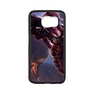 Samsung Galaxy S6 Cell Phone Case White League of Legends Ironscale Shyvana OIW0425971