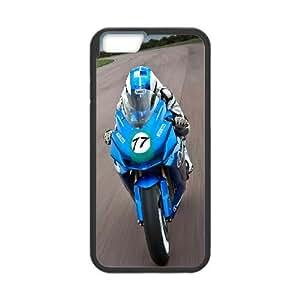 iPhone 6 4.7 Inch Cell Phone Case Black Speed Moto Race Xuqik