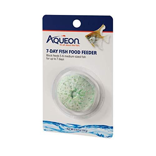 Aqueon Fish Food Feeder, 7-Day, 1-Pack