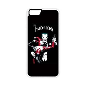 iPhone 6 4.7 Inch Cell Phone Case White Harley Quinn and The Joker Kjigo