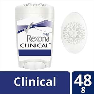 Rexona Antitranspirante Clinical en Crema para Caballero, 48 gr