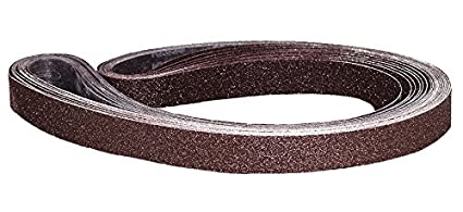 Astro Pneumatic Tool 303680G 3//8 x 13 Sanding Belt 10 Piece 80 Grit