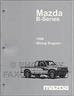 [DIAGRAM_5LK]  1998 Mazda B4000 B3000 B2500 Pickup Truck Wiring Diagram Manual Original 2  Door: Mazda: Amazon.com: Books | Mazda B4000 4 0 Engine Diagram |  | Amazon.com