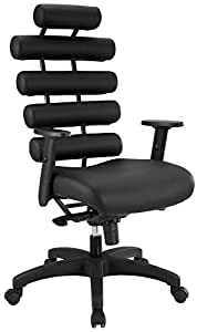 Modway Pillow Office Chair, Black