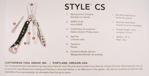 Leatherman Wingman Style Cs Multi-Tools
