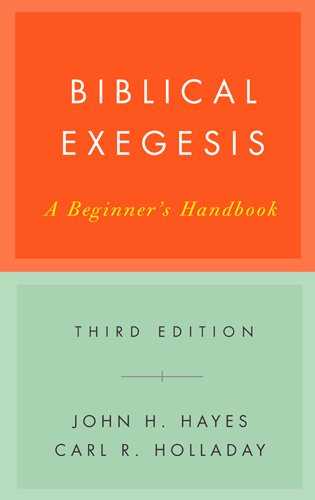 Biblical Exegesis, 3rd ed cover