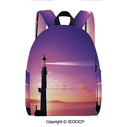 - SCOCICI Girls Fashion Printed Pattern Backpack (11.5