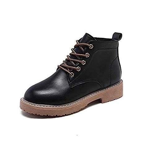 High Heels Kurze Stiefel, Kurze Stiefel, British Style, Martin Stiefel, Stiefel, Stiefel, weibliche Kurze Röhre (Farbe   Schwarz, Größe   35) 604cad