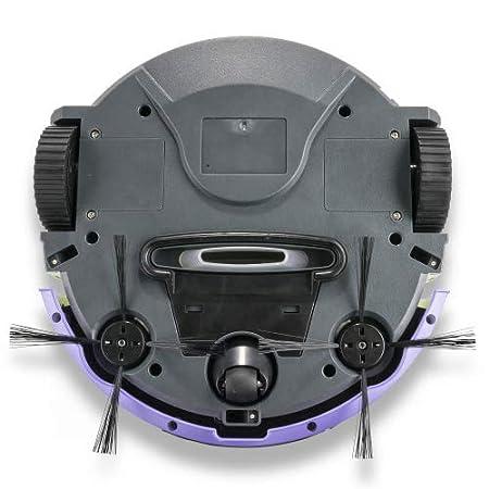Genius cleanissimo | Robot Aspirador VR10 | Aspirador, detección de obstáculos y escaleras | 80 min batería: Amazon.es: Hogar
