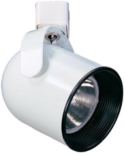 Elco Lighting ET661B Line Voltage PAR20 Yoke Mounted Roundback Cylinder with Hidden Wires & Phenolic Baffle