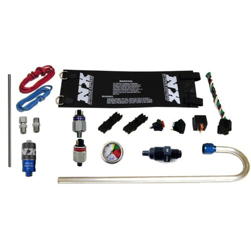 Nitrous Express GENX-2I GEN X-2 Nitrous Accessory Package Incl. Bottle Heater/Carb. Fuel Press. Safety Switch/Press. Gauge/Press. Relief Fitting/Blow Down Tube/Purge Valve For Integrated Solenoids GEN X-2 Nitrous Accessory (Express Nx Nitrous Kit)