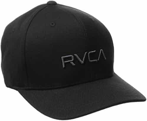 best service 75d7f 4f2ed RVCA Men s Flex Fit Hat