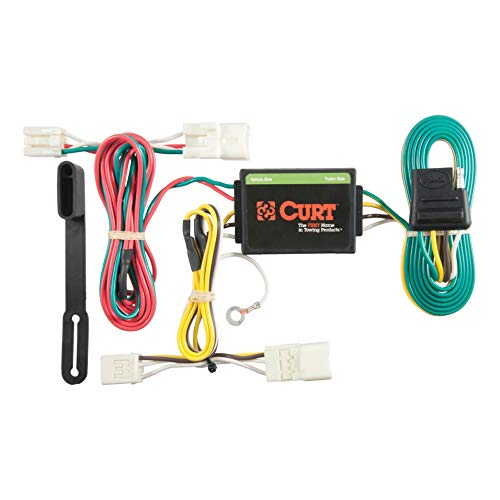 (CURT 56126 Vehicle-Side Custom 4-Pin Trailer Wiring Harness for Select Hyundai Elantra)