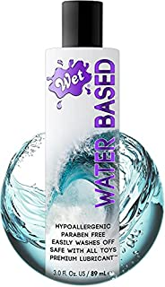 Wet Flavored& Water-Based Edible Lube, Premium Personal Lubricant, for Men, Women and Couples, Ideal for F