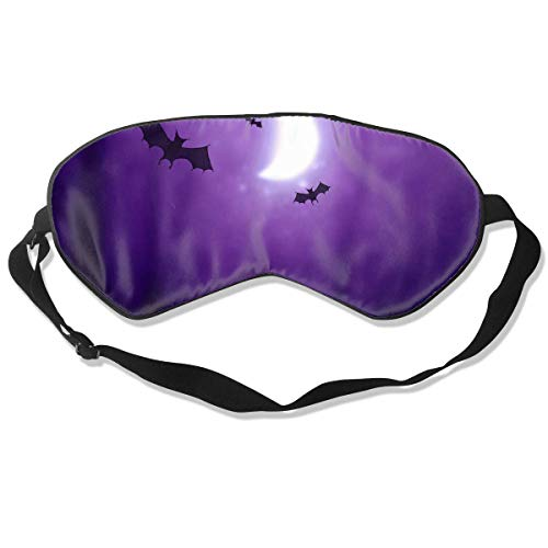 Bats Halloween,Eye Cover Blackout Eye Masks,Breathable Blindfold Chic Sleep Mask -