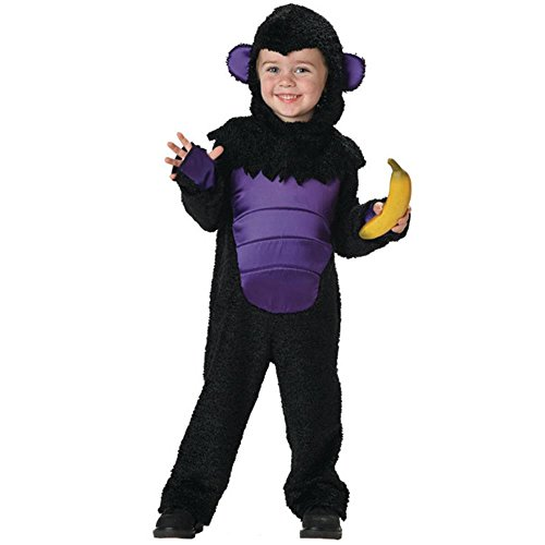 Goofy Gorilla Baby Costumes (Toddler Gorilla Halloween Costume (Size: 2T-4T))