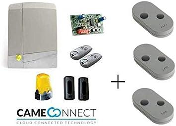 Came Promo - Kit de motorizador, 24 V, puerta corredera, 600 kg, conexión tecnología Came Connect 8K01MS-004: Amazon.es: Bricolaje y herramientas