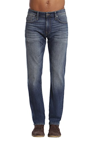 Mavi Men's Zach Regular-Rise Straight-Leg Jeans, Mid Used Williamsburg, 30W X 30L