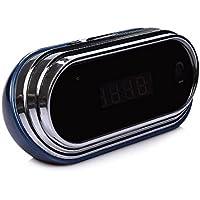 Wi-Fi Hidden Camera Alarm Clock Full HD 1080P Real-time Video Spy Camera Motion Detection Alarm Loop Recording Mini Nanny Camera
