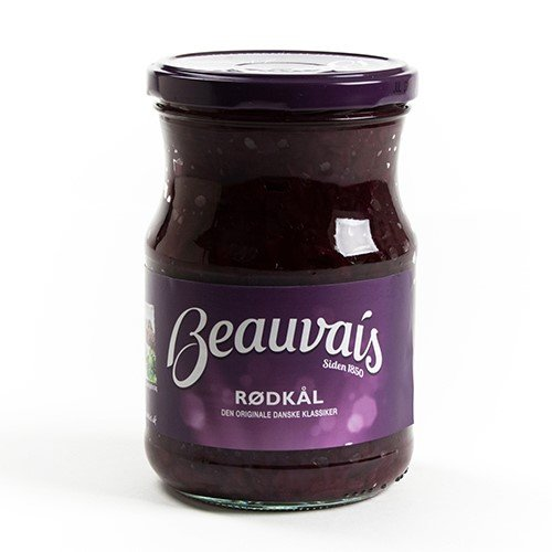 Danish Pickled Red Cabbage (580 gram)