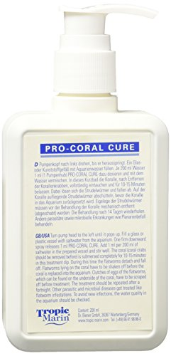 Tropic Marin ATM24314 Pro Coral Cure for Aquarium, 200ml (Iodine Coral Pro)