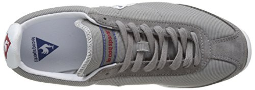 outlet best discount fashion Style Le Coq Sportif Unisex Adults' Quartz Low-Top Sneakers Grey (Titanium/Classic Blu) for nice for sale outlet how much AEPa3xkUcm