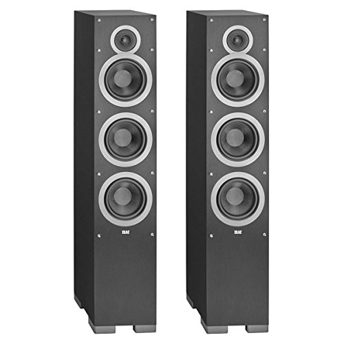 ELAC - Debut F6 Tower Speakers (Black, Pair) by Elac