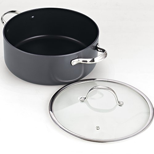 Cooks Standard 7 Quart Hard Anodized Nonstick Dutch Oven Casserole Stockpot with Lid by Cooks Standard (Image #2)