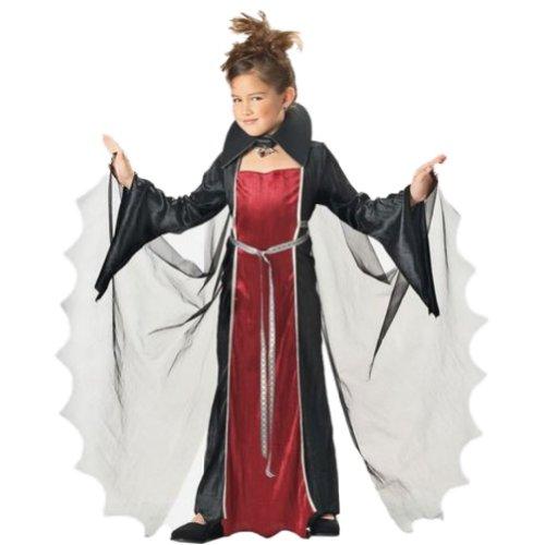 California Costumes Girls Vampire Costume Vampiress (Regal Vampira Girl Costume)