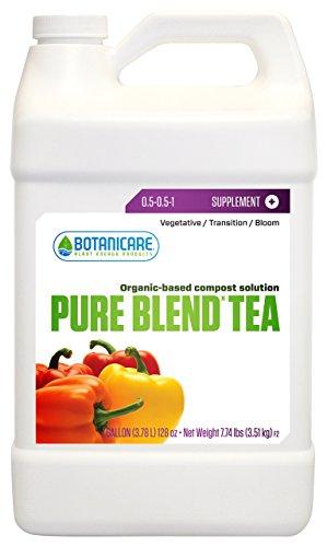 Botanicare NSPBTGAL Pure Blend Tea Organic-Based Compost Solution, 1-Gallon