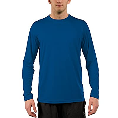 Vapor Apparel Men's UPF 50+ UV/Sun Protection Long Sleeve T-Shirt