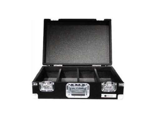 Odyssey CCD450P Carpeted Cd Case With Recessed Hardware For 450 View Packs Or 150 Jewel Cases