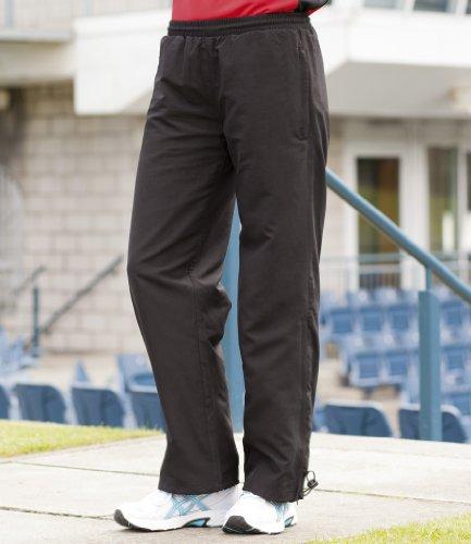 Finden & Hales Mujer Dobladillo Abierto Track–Pantalones para hombre negro