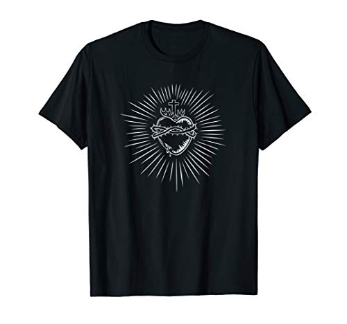 Sacred Heart Of Jesus Devotion Catholic T-Shirt for sale  Delivered anywhere in USA