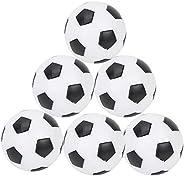 Table Soccer Foosballs, Soccer Game Table Soccer Balls Replacement Balls Foosball Tabletop Games Mini Black an