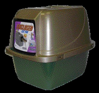 Van Ness CP6 Enclosed Cat Pan/Litter Box, Large, My Pet Supplies
