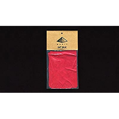 Silk 24 inch Bright Red by Pyramid Gold Magic: Toys & Games